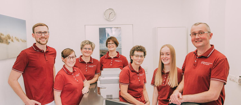 Team Zahnarztpraxis Dr. Henning Frank in Haldensleben.